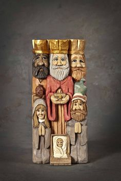 Caricature Carvers of America: 2015 National Caricature Carving Competition Winners Christmas Nativity, Christmas Wood, Wood Carving Patterns, Carving Wood, Wooden Christmas Decorations, Colored Pencil Techniques, Three Wise Men, Celebrity Drawings, Horse Drawings