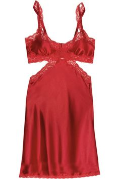 Clara Whispering stretch-silk chemise