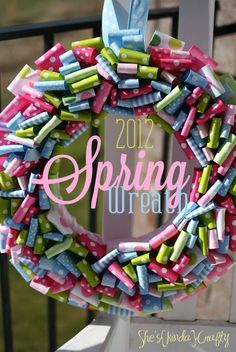 Spring Wreaths – and other Easter ideas #DIY #Easter #Entertaining
