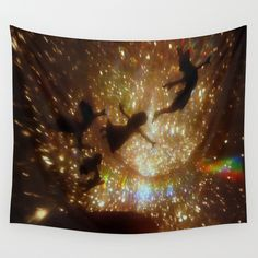 Buy Peter Pan by zeebee as a high quality Wall Tapestry. Worldwide shipping available at Society6.com. Just one of millions of products available.