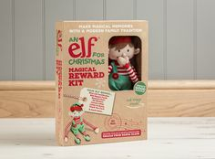 Directly from the North Pole, our award-winning Christmas Elf Boy & Magical Reward Kit will bring fun & magic to homes & classrooms this December.  A friendly face, a festive outfit, long legs & mischievously long arms - our Limited Edition Christmas Elf is perfectly designed for fun & games!