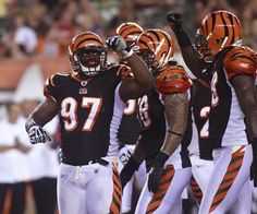 Geno Atkins the second Bengals to capture my heart. I love my D line
