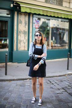 look blouse bellerose salopette mademoiselle r the brunette blog mode francais-6