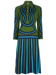 ROBERTA DI CAMERINO VINTAGE Wool dress