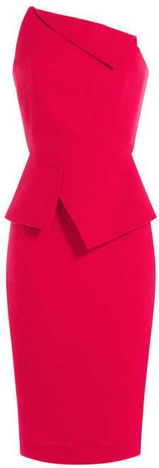 Roland Mouret Thayer Wool-Blend Dress