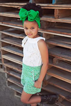 A miniature Dorothy Dandridge! #stylechild