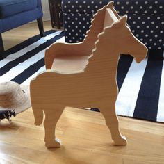 CHILD'S PONY CHAIR- your choice of color by Paloma's Nest   Paloma's Nest