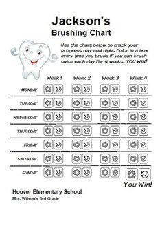 Dental Health Preschool Printable