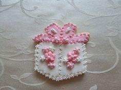 "3"" birthday gift sugar cookie in Pink"