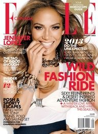 Cover with Jennifer Lopez January 2013 of CA based magazine Elle Canada from Transcontinental Media including details. Jennifer Lopez, Jen Lopez, Fashion Magazine Cover, Magazine Covers, Celebrity Magazines, Vogue, Adventure Style, Just Jared, Elle Magazine