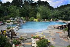 Vanishing Edge Gunite Pools By All Island Of Long