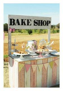 DIY Bake shop or lemonade stand, YW yard/bake sale Party Fiesta, Festa Party, Kino Party, Vintage Baking, Vintage Food, Vintage Style, Cake Stall, Food Stands, Vintage Recipes