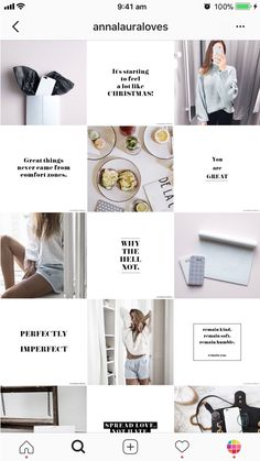 This is what I want to have my layout like -the quotes and then images/memes. Brand is a lot more fun though Instagram Design, Layout Do Instagram, Jb Instagram, Photo Pour Instagram, Insta Layout, Instagram Feed Planner, Instagram Feed Ideas Posts, Story Instagram, Instagram Planer