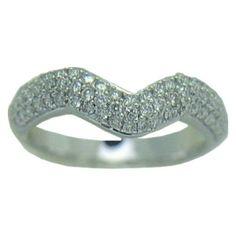 0.50 cttw. Diamond Ring in 14 kw https://www.goldinart.com/shop/diamond-bands/0-50-cttw-diamond-ring-in-14-kw