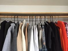 We used the #KonMari method to help us organize our closet. Here's our thoughts