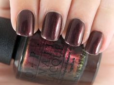 OPI Nail Lacquer in Muir Muir On The Wall