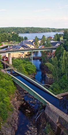 Håveruds Akvedukt, Dalsland, Sweden