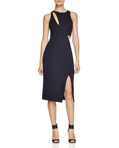 N Nicholas Curve Splice Dress | Bloomingdale's
