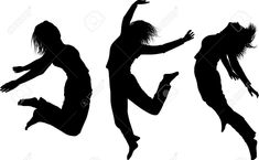 jumping silhouettes - Google Search