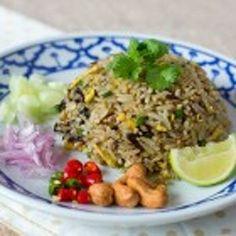 Thai Olive Fried Rice Recipe
