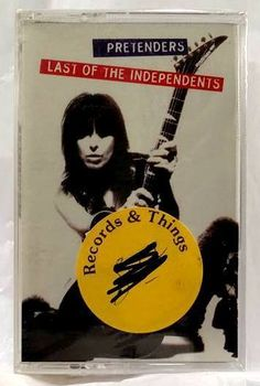 PRETENDERS Last of the Independents 1994 CASSETTE TAPE - NEW/Factory Sealed #RocknRoll