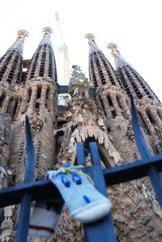 Bob Trotteur visite la Sagrada Familia
