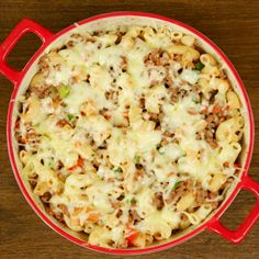 You don't have time for cooking? OK, we'll help you! Just put in the oven something good and go back to your business while the meal is baking. What about that? Boil some pasta, mix it with ground beef, and make a delicious casserole!