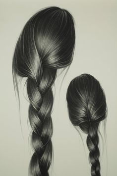 Hong Chun Zhang Artwork. Long Hair
