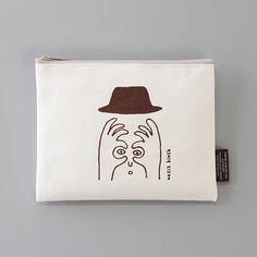 게시판 > 제품리스트 > CBB pouch Ad Layout, Korean Products, Pop Art Design, Printed Bags, Character Illustration, Packaging Design, Print Patterns, Artsy, Pouch