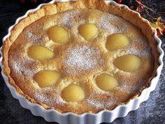 Recette de Tarte aux poires et à la poudre d'amandes : la recette facile Lemon Chicken, Sushi, Muffins, Sandwiches, Recipies, Treats, Snacks, Fruit, Cooking