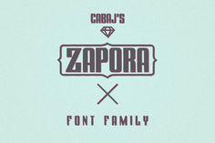 ZAPORA by CABAJ on Creative Market