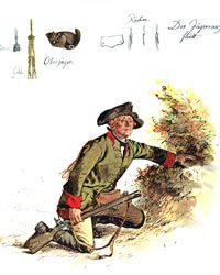 Prussian Feld Jӓger.