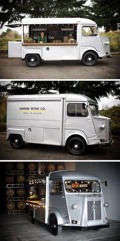 Citroën Type H 1972 (Union Wine Co., wine on wheels, Portland)