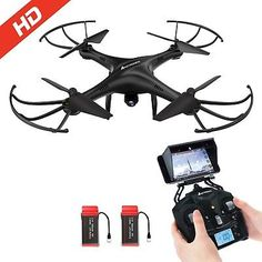 ﹩113.19. Drone with HD Camera AMZtronics A15W Wireless FPV 2.4Ghz RC Quadcopter RTF Al...