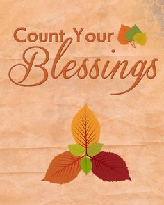 30 Days of Thankfulness: Free Thanksgiving Printable – Count Your Blessings