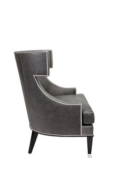 Buy Brenton Wingback Chair by Marcali Designs Inc - Made-to-Order designer Furniture from Dering Hall's collection of Transitional Lounge Chairs.