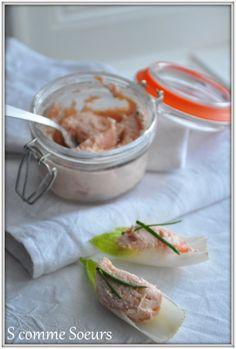 Rillettes aux deux saumons et au mascarpone