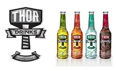 A redefined soft drink brand - which gives the impression it has been aligned with the adult world of alcoholic beverages