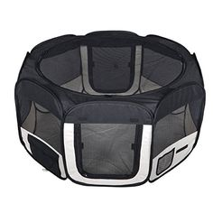 I just used this last weekend  New Small Black Pet Dog Cat Tent Playpen Exercise Play Pen Soft Crate T08 follow this link click here http://bridgerguide.com/new-small-black-pet-dog-cat-tent-playpen-exercise-play-pen-soft-crate-t08/ for much more detail about it. Thanks and please repin if you like it. :)