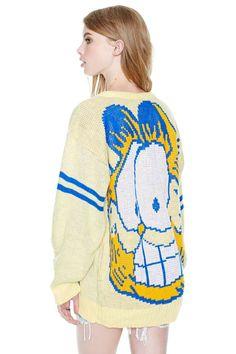 Vintage Garfield Sweater