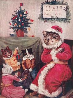 I don't know why I like cats in Christmas  themed things and clothes.