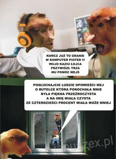 Nosacz Janusz Ojciec Smieszne memy Dead Memes, Stuff And Thangs, Good Mood, A Funny, Humor, Sayings, History, Text Posts, Humour