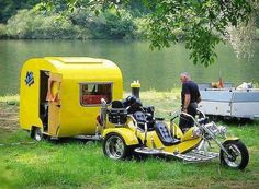 I would totally take this for a weekend of fishin'.