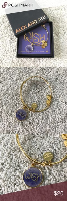 Wish Alex and ani bracelet Perfect condition, never been worn. Comes with original box Alex & Ani Jewelry Bracelets Disney World Halloween, Halloween 2018, Alex And Ani Bracelets, Jewelry Bracelets, Alex Ani, Gold Material, Purple Gold, Fashion Design, Fashion Tips