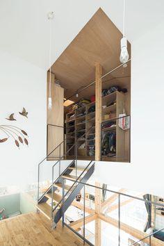成瀬・猪熊建築設計事務所による、東京の住宅「スプリットハウス」   architecturephoto.net   建築・デザイン・アートの新しいメディア。アーキテクチャーフォト・ネット
