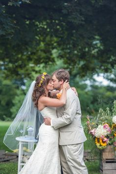 Chelsea & Brendan's Lakeside Summer Wedding in Sunset Colors Photographer: Smile Peace Love Photography