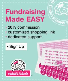 Easy School & Team Fundraising with Mabel's Labels! | In the Hammock Blog