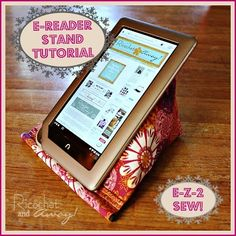 A Fabulous Fat Quarter | 50 Things You Can Do With a Fat Quarter - #16 DIY Fat Quarter Projects for your Electronics
