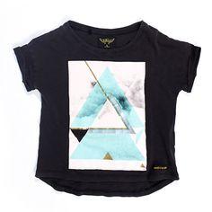 Finger in the Nose Britney Vintage Black Triangle T-shirt | www.littlesahou.com