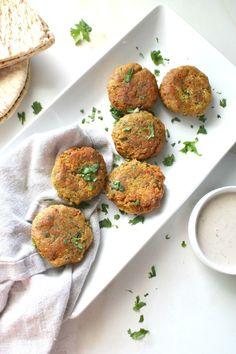 Simple Crispy Vegan Falafel